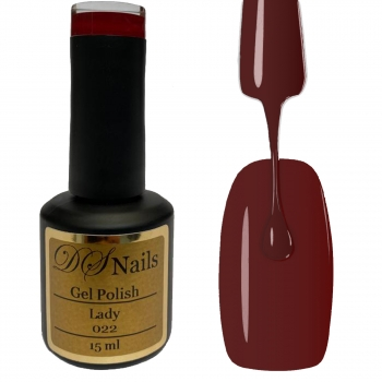 022 Lady Soak off Gel Polish 15ml