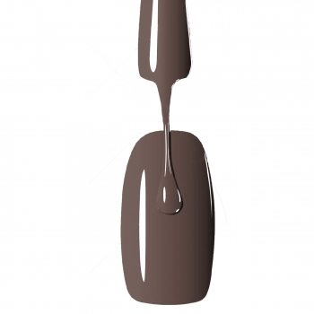 053 Soak off Gel Polish Milk Chocolate 12ml